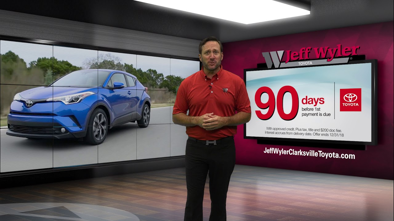 Jeff Wyler Toyota Of Clarksville | 90 Days Before First Payment!