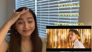MONSTA X (몬스타엑스) - FANTASIA MV REACTION