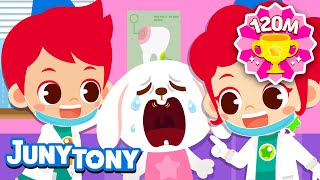 Dentist   Dental Surgeon   Children's Job Experience   Jobs & Occupations Songs for Kids   JunyTony