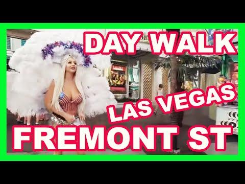 Day Walk-Thru Fremont Street Experience Downtown Las Vegas