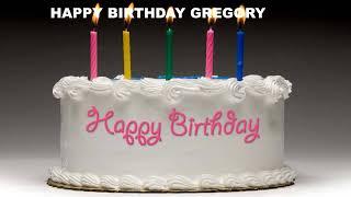 Gregory - Cakes Pasteles_197 - Happy Birthday