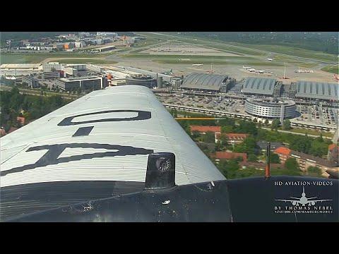 ᴴᴰ ✈ Junkers JU-52 Rundflug (Scenic Flight) Hamburg