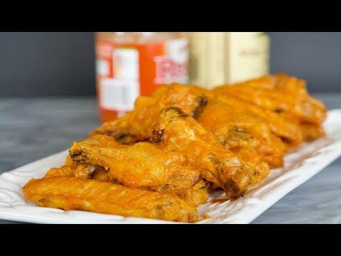 Receta de Alitas de Pollo Búfalo | Cómo Hacer Alitas de Pollo | SyS
