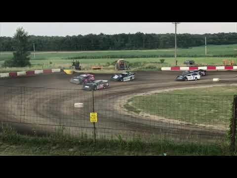 Kyle Barger 7/27/19 Shadyhill Speedway Crate Late Model Heat #1