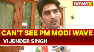 Boxer & Congress candidate from south Delhi Vijender Singh: Joined Congress for people, not politics