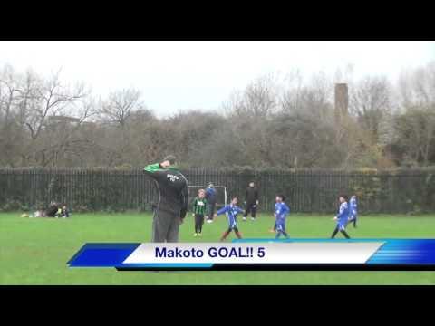 Makoto Tanaka 8ys 2015 2016 U9 London League