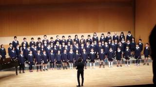 Repeat youtube video 《歌詞あり》 関目東小学校4年生 「二分の一成人式」