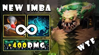 [Underlord] Builds Rod of Atos + Pit of Malice = Unlimited Root with Easy Free 400Dmg | Dota 2 7.23