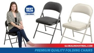 Steel Folding Chairs - Premium Quality