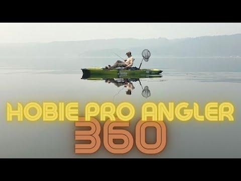 Overview Of The Hobie Pro Angler 14 Mirage 360 Pedal Drive Fishing Kayak