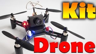 Kit drone de carreras para empezar - Kit Para Armar Cuadricoptero
