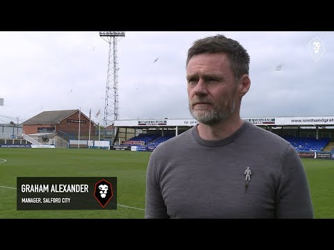 Hartlepool United 3-2 Salford City | Graham Alexander post-match interview