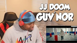 FIRST TIME HEARING... JJ DOOM - GUV'NOR (REACTION)