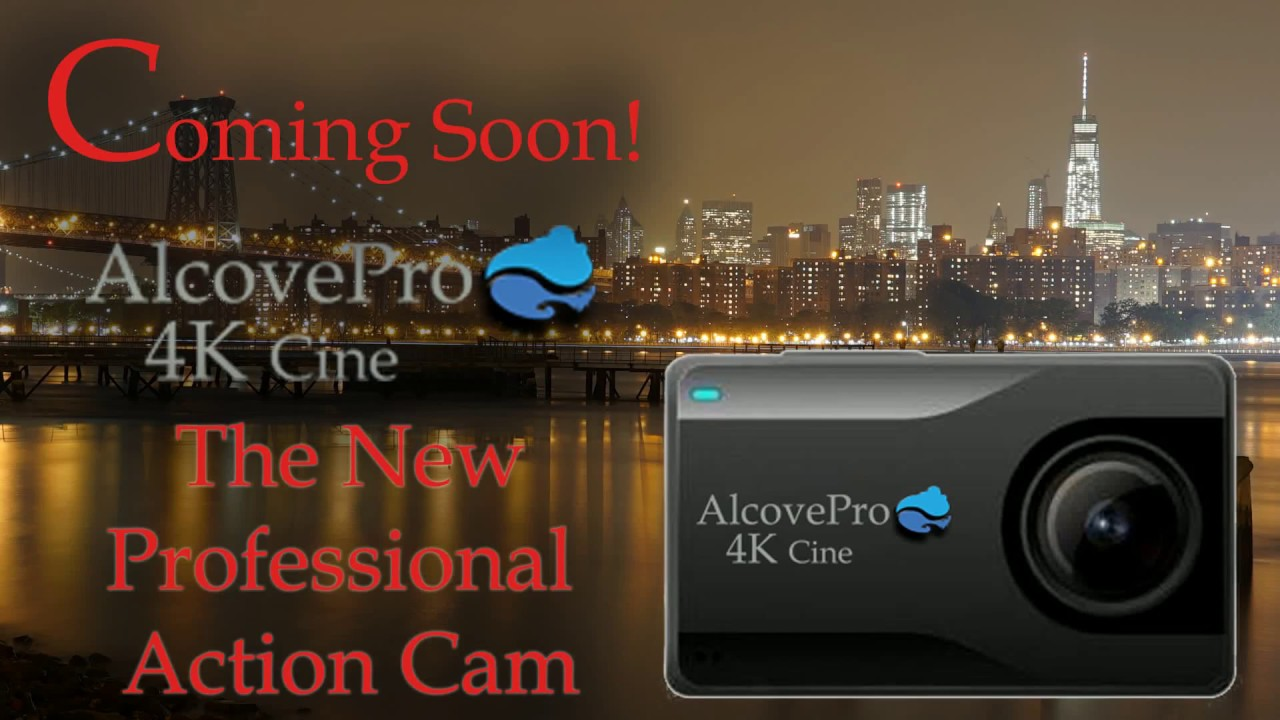 AlcovePro 4K cine will be drone mounted.