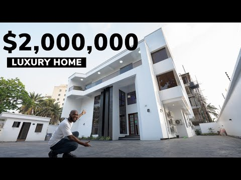 Inside a $2,000,000 Iconic Luxury Home in Lagos Nigeria