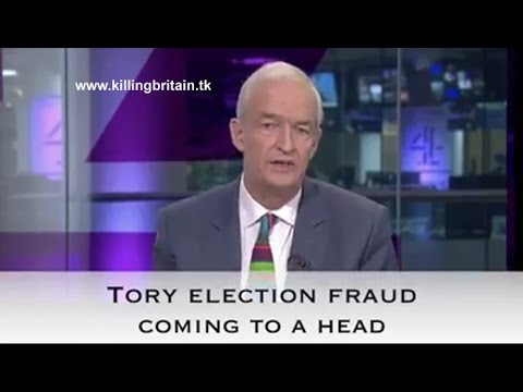 Tory Election Fraud Coming To A Head
