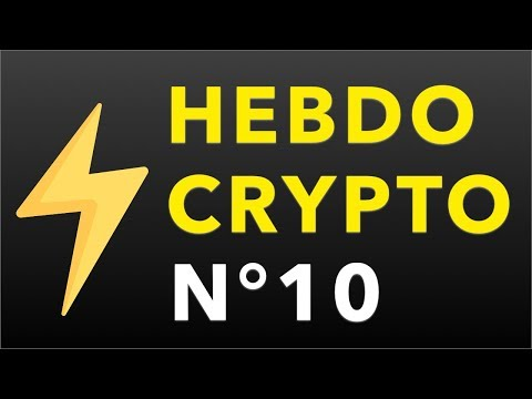 Hebdo Crypto - Lightning a frappé, Un bloc de 2MB, Ledger explose, ...