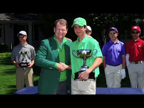 Michael Thorbjornsen Junior Golfer