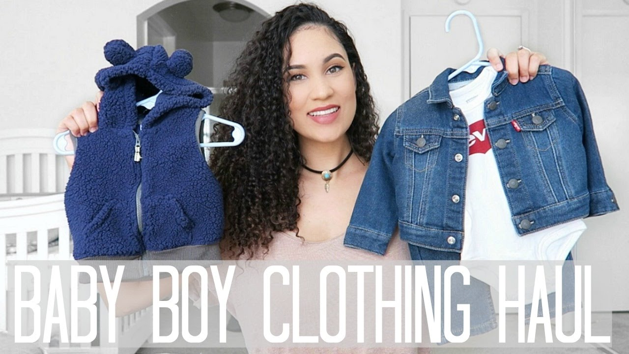 Baby Boy Clothing Haul 3 6 6 9 Months Youtube