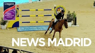 Thrilling 18-Horse Jump-Off in Madrid | Longines FEI World Cup™ Jumping