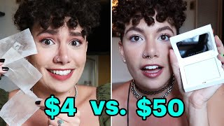 $4 Vs. $50 Oil Control Products