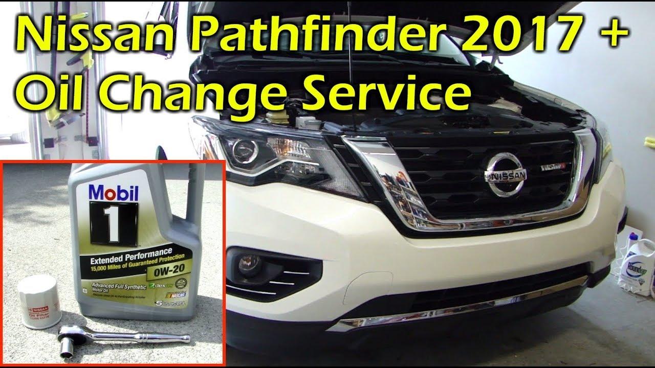 High Quality Nissan Pathfinder (Infiniti QX60) Oil Change U0026 Reset Oil Reminder