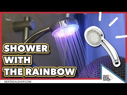 Shower With The Rainbow! - Color Changing LED Shower Head - Next Deal Shop