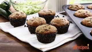 Zucchini Recipes - How To Make Zucchini Chocolate Chip Muffins