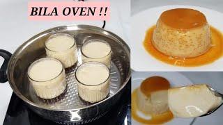 Jinsi ya kupika pudding ya mayai kwenye vikombe vya maji na bila oven | Mapishi rahisi