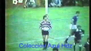 Cruz Azul 2 - Pumas 0. Final 78-79 Cruz Azul Campeón