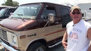 1977 Chevy G20 Original Custom Van. That's Al's Van.