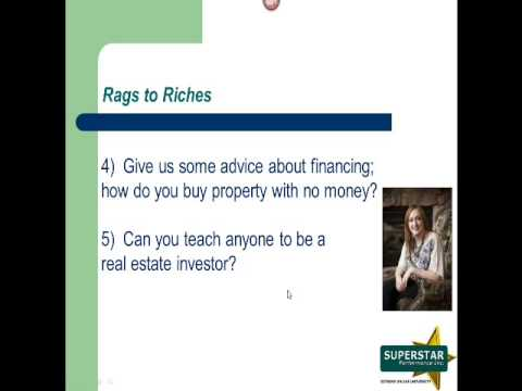 "Alex Szinegh's interview with Savannah Ross, Canada's Rich Mom, "" Rags to Riches"""