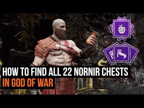 How To Find All 22 Nornir Chests In God Of War - Nornir Chest Guide