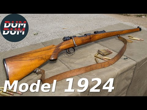 Srpski Mauzer model 1924 opis puške (gun review)