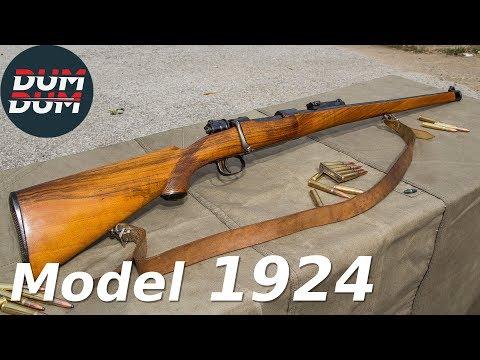 Srpski Mauzer model 1924 opis puške (gun review, eng subs)