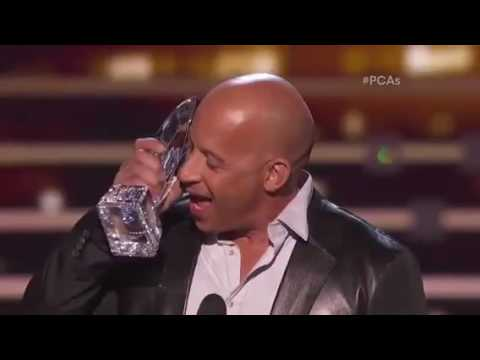 "Vin Diesel | Oscar Awards | Sings "" See You Again """