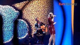 Anna Rosinelli - In Love For A While - Eurovision 2011 - Switzerland - From dress rehearsal