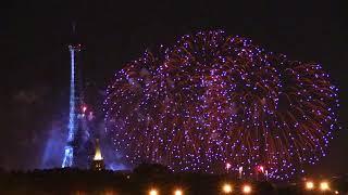 feu d'artifice de Paris 14 juillet 2017