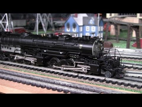 Lionel B&O EM-1 Yellowstone (2-8-8-4) O-Gauge Steam Locomotive in True HD 1080p