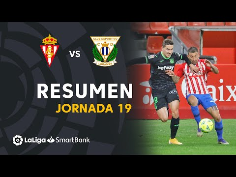 Gijon Leganes Goals And Highlights