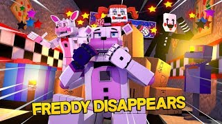Minecraft Fnaf: Sister Location - Funtime Freddy Disappears (Minecraft Roleplay)