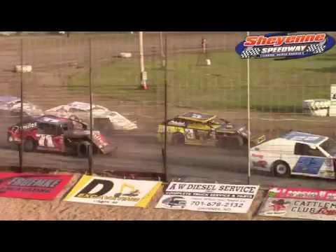 Sheyenne Speedway Wissota MW Modified A-Main (6/10/18)