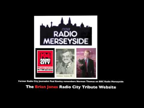 194 RADIO CITY -  RADIO MERSEYSIDE  NORMAN THOMAS