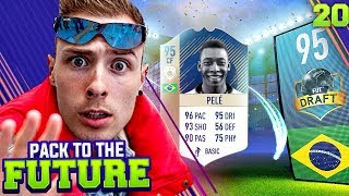 OMG WE GOT PELE!!! DRAFT SPECIAL!!! PACK TO THE FUTURE EPISODE 20!!! FIFA 18 Ultimate Team