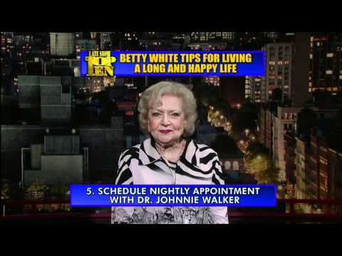 Betty White Top Ten on David Letterman
