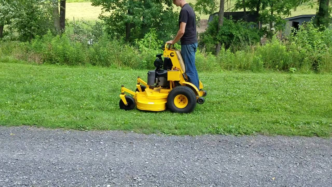 Wright 52 Quot Stander Zero Turn Hydro Commercial Lawn Mower