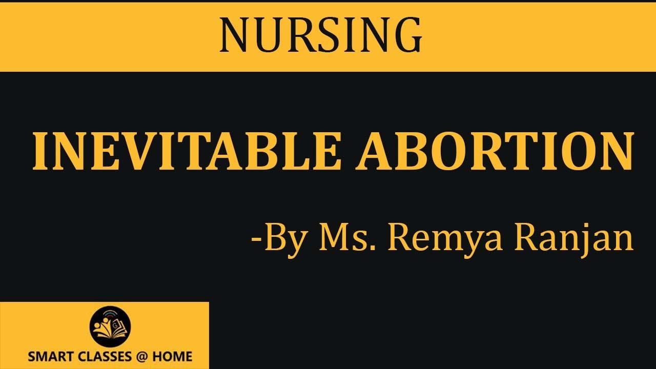 Inevitable Abortion   Miscarriage   Remya Ranjan