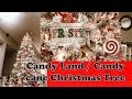CANDY LAND / CANDY CANE CHRISTMAS TREE | CHRISTMAS TREE INSPIRATION 2018 | CHRISTMAS TREE IDEAS