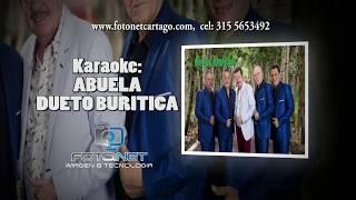 KARAOKE ABUELA DUETO BURITICA