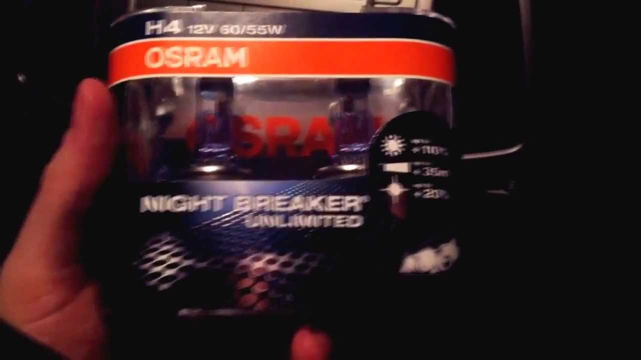 osram night breaker unlimited quick review doovi. Black Bedroom Furniture Sets. Home Design Ideas